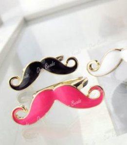 moustache rings