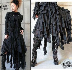 gothic lolita punk dress