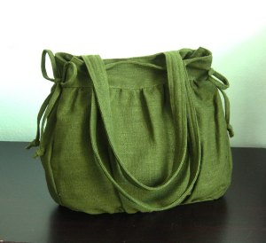 hemp green bag tippytail