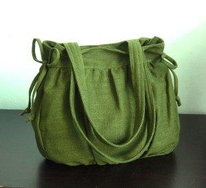 hemp green bag tippytail