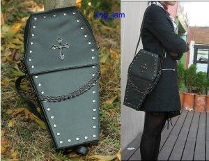 gothic lolita coffin bag