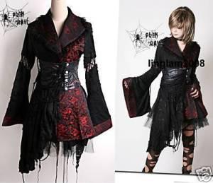 gothic lolita kimono dress