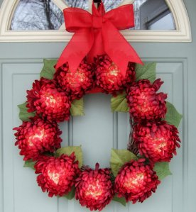 CountryPrim Valentine wreath