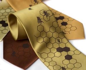cyberoptik honeybee tie