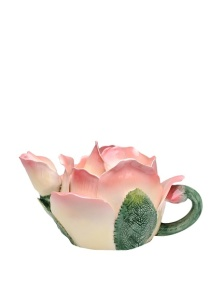 My Habit Pink rose teapot
